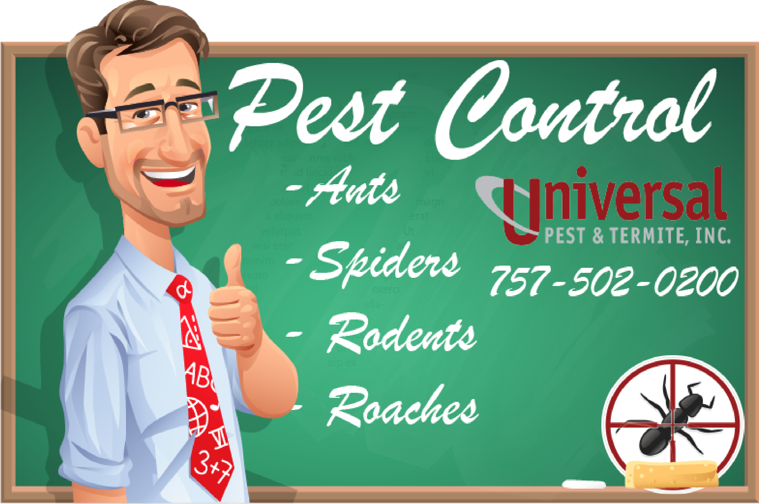Pest Control Pricing Chesapeake
