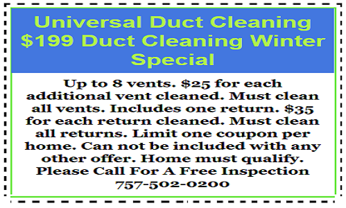 Duct cleaning coupon